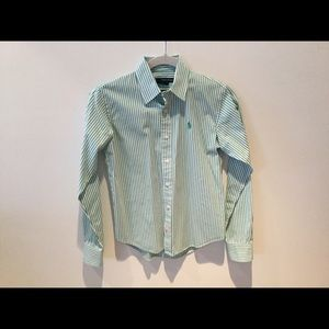 Ralph Lauren Ladies Button Down Blouse